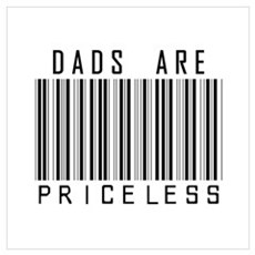 Dads Are Priceless Canvas Art
